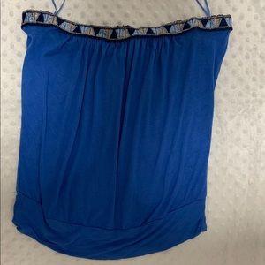 Arden B blue strapless size medium